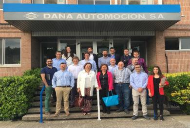 Una delegación de socios MI4 conoce experiencias de Industria 4.0 en Zaragoza