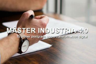 Abierto el período de preinscripción a la 2ª edición del Máster Industria 4.0