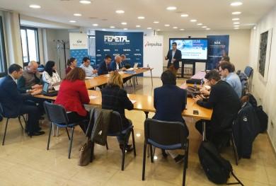 Hub4Metal presenta sus proyectos colaborativos a ldepa e Impulsa en un taller extraordinario