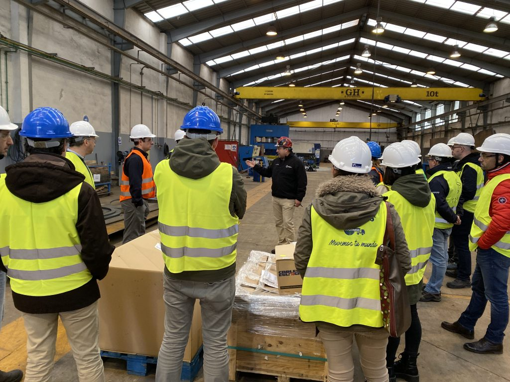 El grupo de trabajo de trazabilidad visita Industrial Moreypi